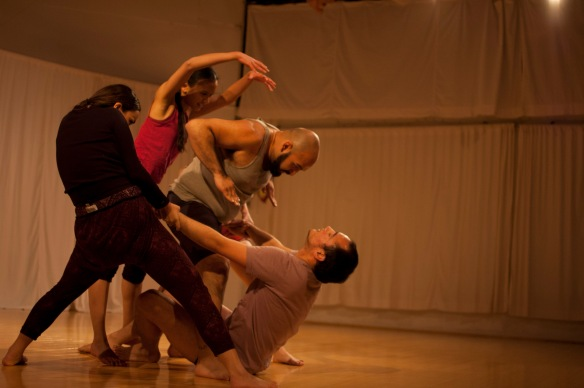 SFSU University Dance Theatre, at Works in the Works 2013